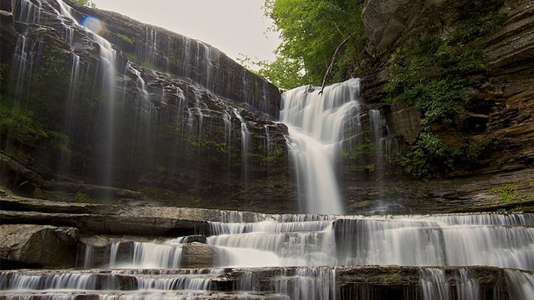 TN Waterfall Tour and Camping Trip