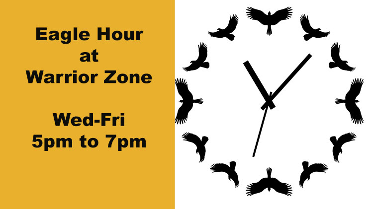Eagle Hour at Warrior Zone