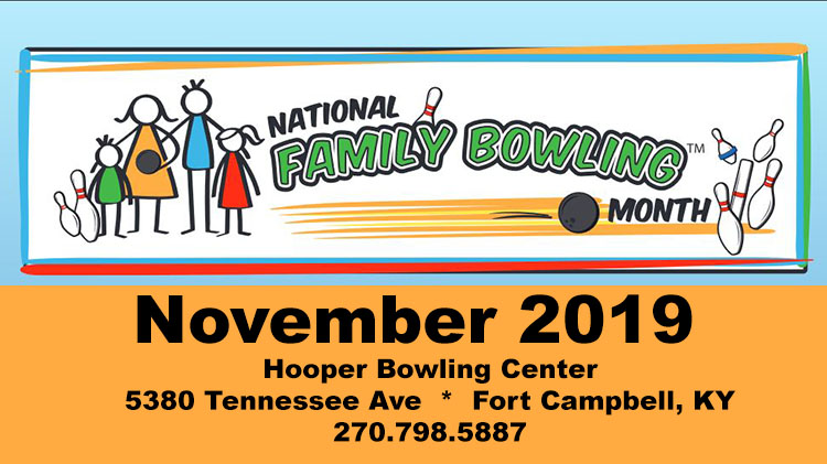 National Family Bowling Month at Hooper Bowling Center