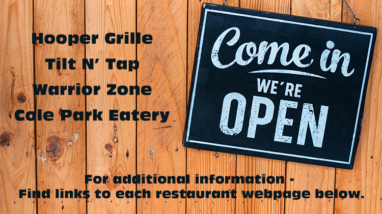 Come In - We're Open!