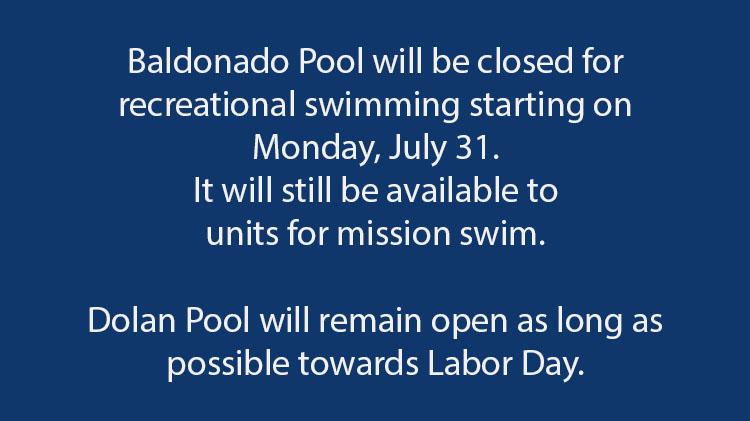 Outdoor Swimming Pool Update