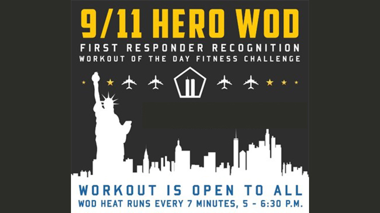9/11 Hero Workout of the Day (WOD)