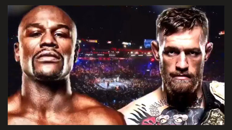 Watch Mayweather vs McGregor PPV at Warrior Zone - Fee