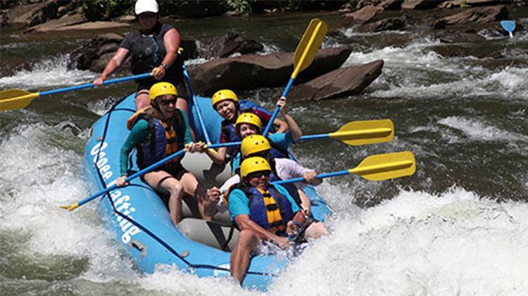 Whitewater Raft the Ocoee
