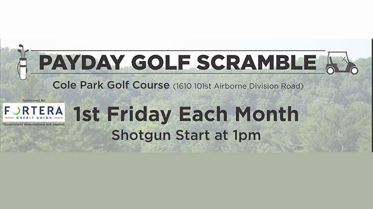 Payday Golf Scramble