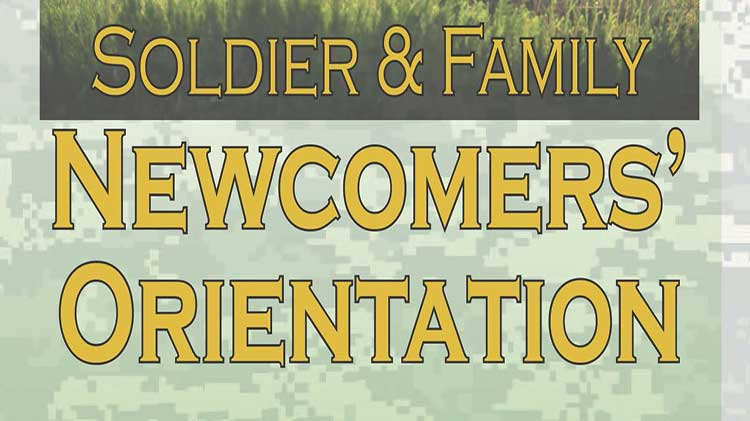 Soldier & Family Newcomers Orientation - No Fee