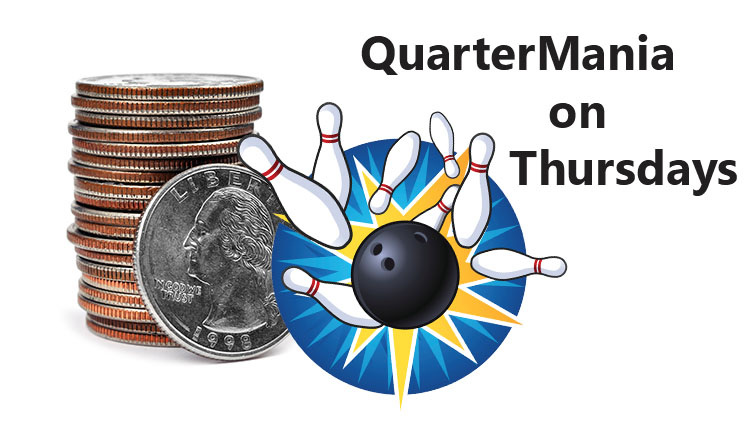 It's QuarterMania Thursdays at Hooper!