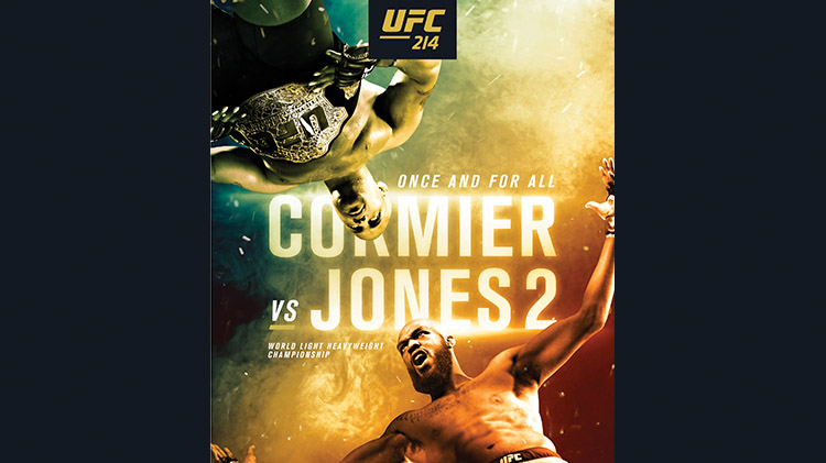 Watch UFC #214 at Warrior Zone - No Fee