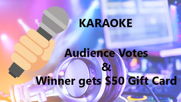 Karaoke with DJ BlakRob at Warrior Zone - No Cover Charge