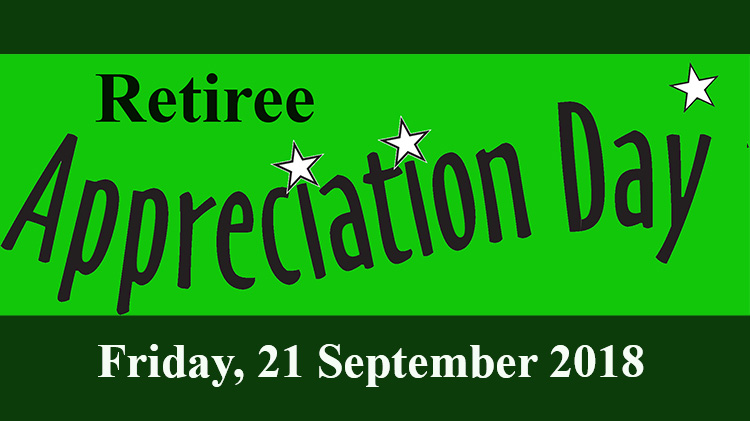 Retiree Appreciation Day Specials