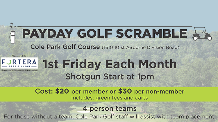 Payday Golf Scramble