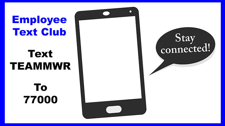 MWR Employee Text Club