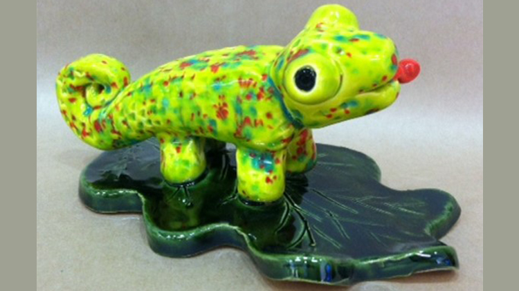 CANCELLED - Arts & Crafts Clay Chameleon