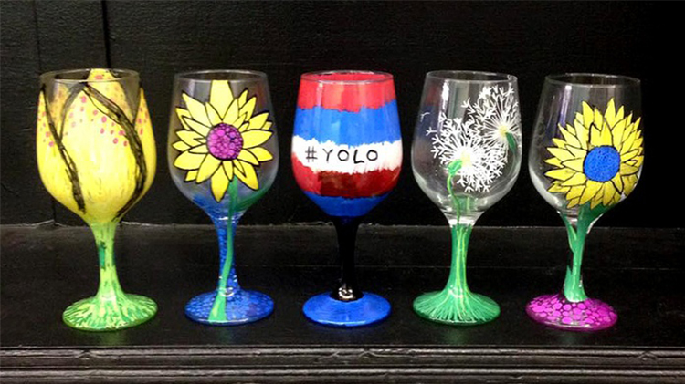 Arts & Crafts Adult Glass Painting - Fee