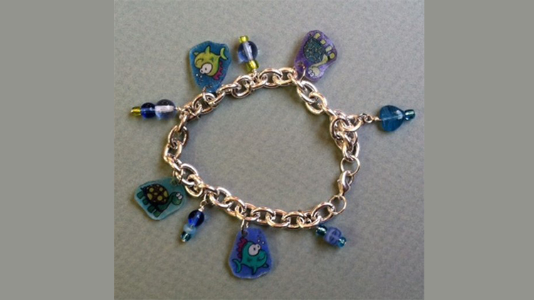 Arts & Crafts Shrink It Charm Bracelet