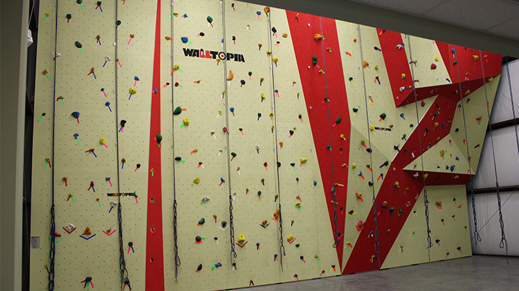 Open Climb at the Indoor Climbing Wall