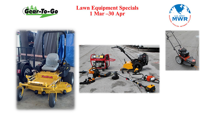 Gear To Go Lawn & Garden Equipment Special