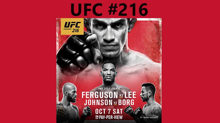 Watch UFC #216 at Warrior Zone - No Fee