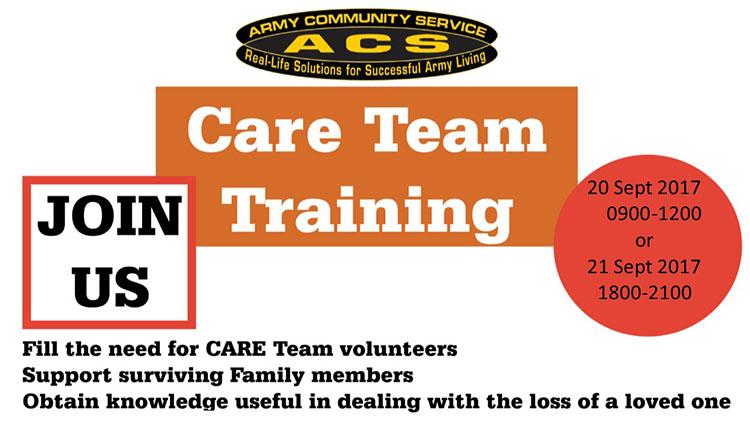ACS MOB DEP Care Team Training - No Fee