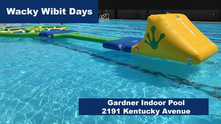 Wacky Wibit Days at Gardner Pool