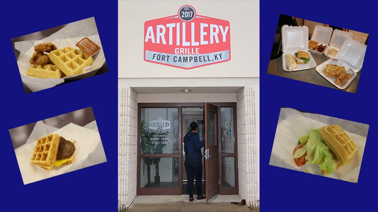 Artillery Grille NOW OPEN