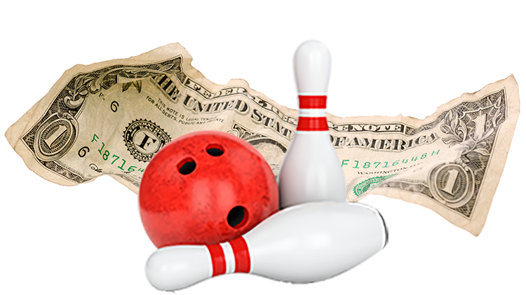 Mondays are Dollar Days at Hooper Bowling Center