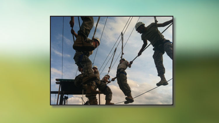 Schedule the Challenge Course for your Event