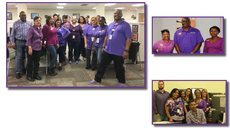 Purple Shirt Fridays for Domestic Violence Awareness Month - No Fee