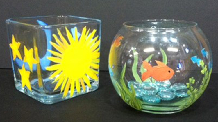 Arts & Crafts Kids Glass Painting - Fee