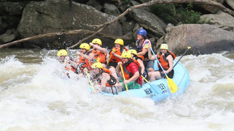 Whitewater Raft the Upper Gauley River with ODR