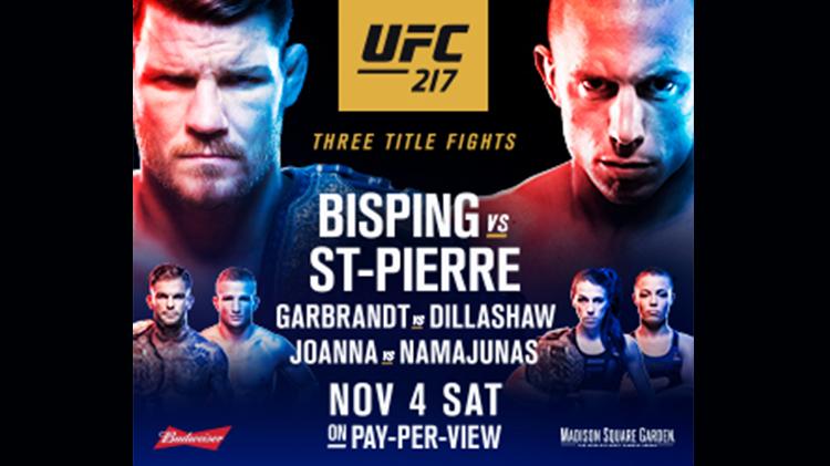 Watch UFC #217 at Warrior Zone - No Fee