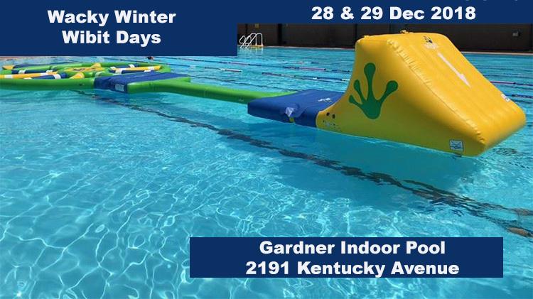 Wacky Winter Wibit Days at Gardner Pool
