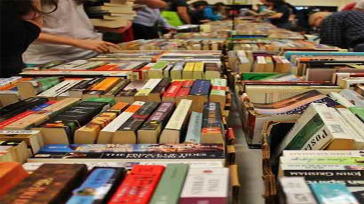 Book Sale at the Library