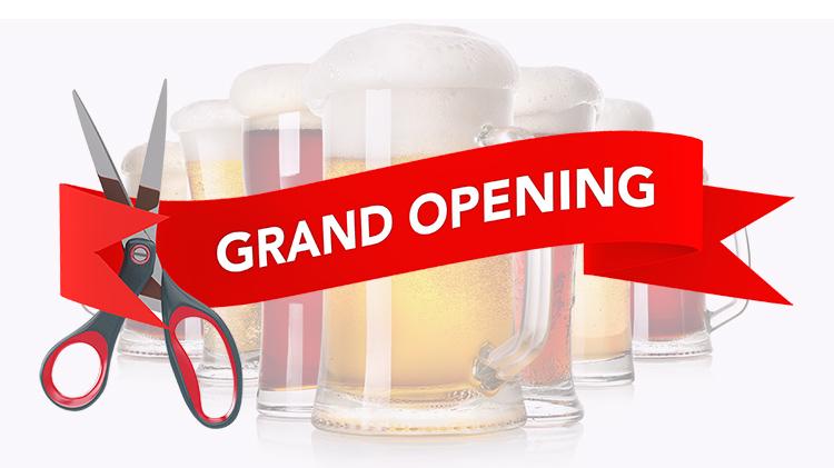 Hooper Tilt N' Tap Lounge Grand Opening