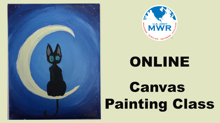 Online Canvas Painting Class