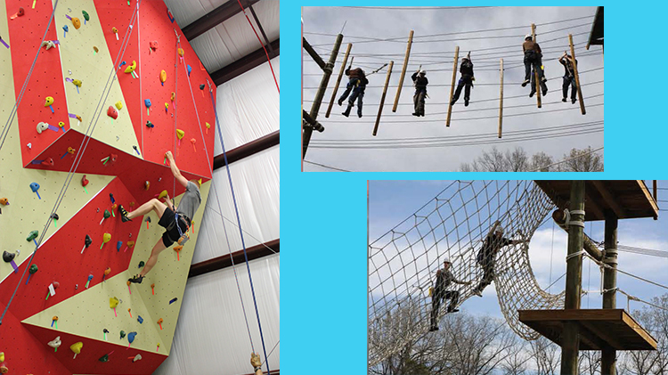 Group PT Available at ODR Challenge Course Complex and Indoor Climbing Wall